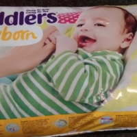 Cuddlers nappies newborn open bag 40 nappies