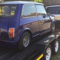 1973 Mini (excluding trailer)