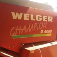 Welger 2 X WELGER D4000