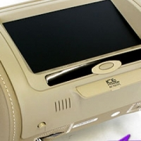 Ice Headrest with Screen (Pair)