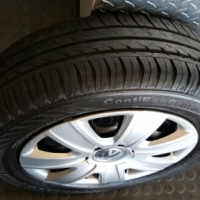 14 inch Rims & Tyres with Hubcaps R3000