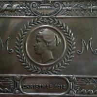 PRINCESS MARY BRASS GIFT BOX 1914