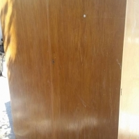 2 door wardrobe with hanging and packing space