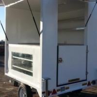 DURA: Food vending trailer