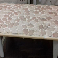 Pebble table for sale.