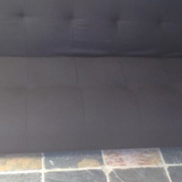 black Sleeper couch for sale.