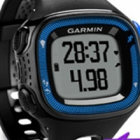 Garmin Forerunner 15 Black and Blue With HRM