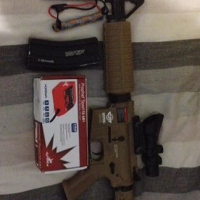 AIRSOFT KIT. Great condition.