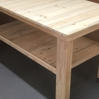 Kitchen Island Cottage series 1500 extended width mobile - Raw
