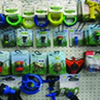 Gardening accessories and hose fittings