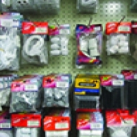 Electrical : switches, sockets, isolators, circuit breakers, multiplugs