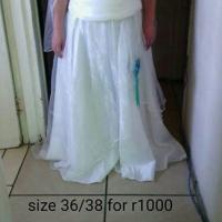 Wedding dress for sale.