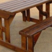 Wooden Picnic Benches for Sale