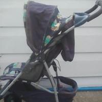 Large baby pram