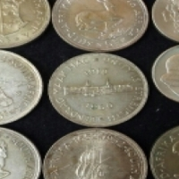silver coins and medals wanted
