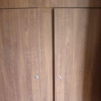 Two door wardrobe with two drawers (New)