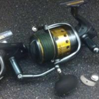 2 Shimano Saragosa 18000 Spinning Reels Tuna Tarpon Popping Jigging Rod Snook