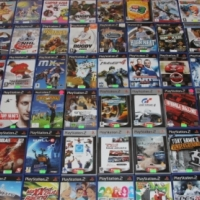 PS2 accessories & original games sold separately