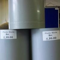USED PLASTIC BINS