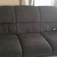 3 x Couches Grey (sofa legs are wooden)