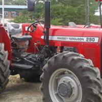 S2221 Red Massey Ferguson (MF) 290 61kw 4x4 New Tractor/Trekker