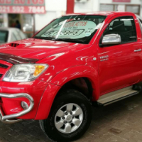 2005 Toyota Hilux 3.0 D-4D Raider S/C, Only 170000Km's, Service History, Powersteering