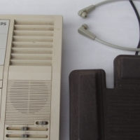 Philips 555 Transcription System Dictaphone