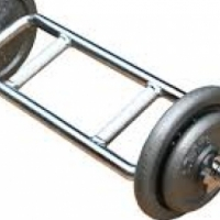 Barbell Triceps Bar with Collars