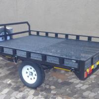 DURA: NEW quad side load trailer, two quad bike trailers, Custom quad bike trailers