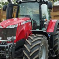 S2246 Red Massey Ferguson (MF) 8670 213kw 4x4 New Tractor/Trekker