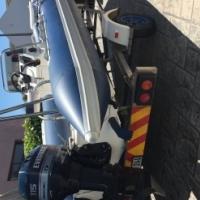 Prestige Scanner 555 Rubberduck with 115 Evinrude 2 stroke Autolube