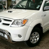 2007 Toyota Hilux 3.0 D4D Raider D/C, Only 202000Km's, Service History, Powersteering