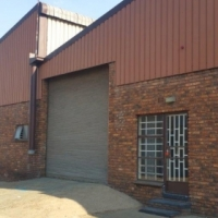 Industrial warehouse with offices space for rent in Alrode.
