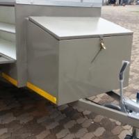 DURA:Camper custom build, 4 x 4 camping trailer, 4 x 4 luggage trailer, New luggage camping trailers