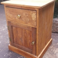 Single Pine Bedside Chest
