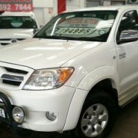 2008 Toyota Hilux 2.7 VVTi Raider D/C, Only 160000Km's, Service History, Powersteering