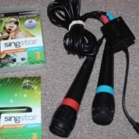 PS3 Singstar Afrikaans + Microphones