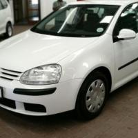 2005 Volkswagen Golf 5 1.6 Trendline, with 134000km,Full Service History with Powersteering