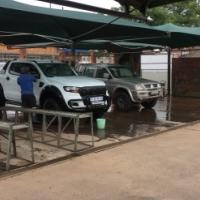 Car wash & valet center + Car Stand for sale