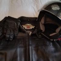 Harley Davidson, Jacket, Gloves and Helmet available