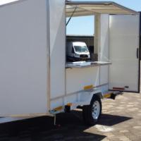 DURA: Small Vending trailer, Kiosk trailer, Custom built food trailers, NEW Catering trailers