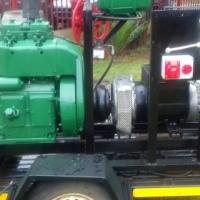 12KVA GENERATOR Single phase and 3 phase on trailer