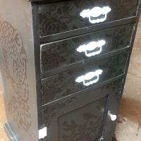 Black Bird Tower cabinet (595x540x1030)