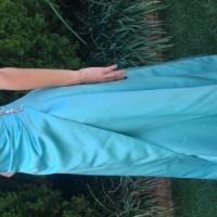 Stunning Pale Blue Evening Dress Size 32