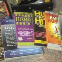 Karaoke cds + 2 x microphones + 2 pc games, used for sale  Benoni