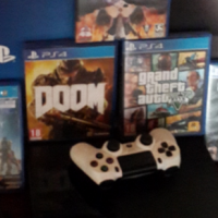 Ps4 for sale + 5 games