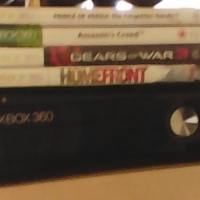 xbox 360 250gig hdd 1remote 6 games sell or swop, used for sale  Pretoria West