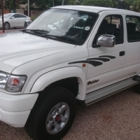 2004 Toyota Hilux  4x4 3.0D KZ-TE, D/C, Only 148000kms,