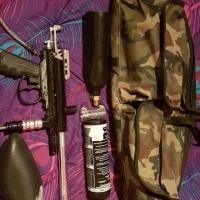 Spider TL-X paintball gun