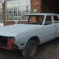 Valiant Vip body stripped for rebuild